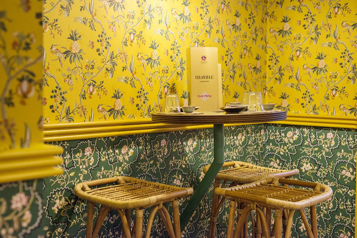 Ristorante Temakinho a Firenze: dettagli interno