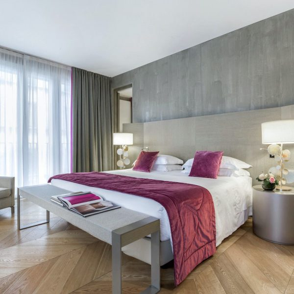 Starhotels Rosa Grand a Milano: Grand Suite bedroom