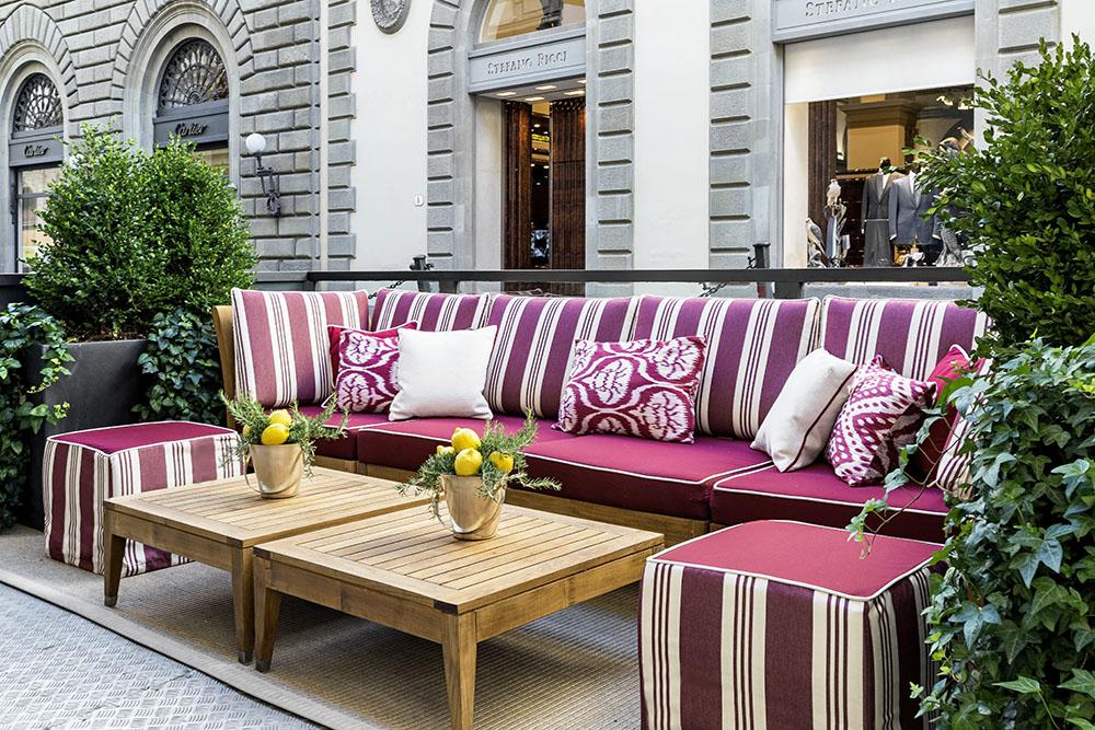 Starhotels Helvetia & Bristol in Florence: Dehors details