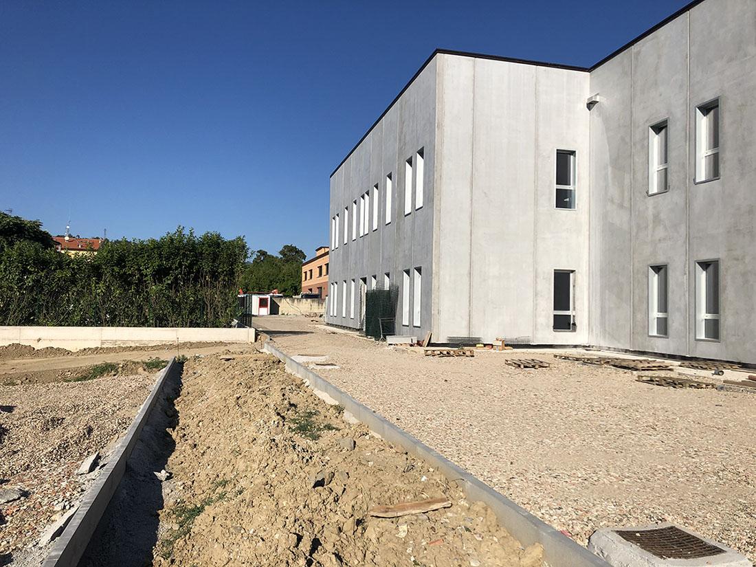 Incinque a S.Giovanni Val d'arno: costruzione fabbricato