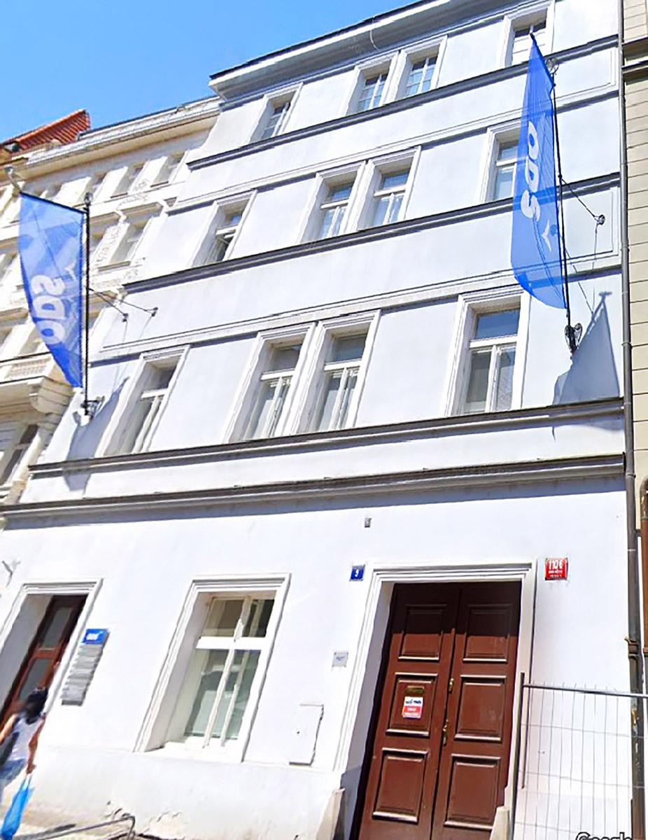 Unità residenziali ad uso turistico a Praga: dettaglio esterno