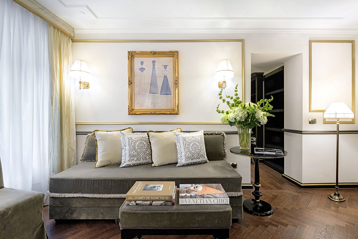 Starhotels Hotel Splendid a Venezia: Salotto Grand Suite