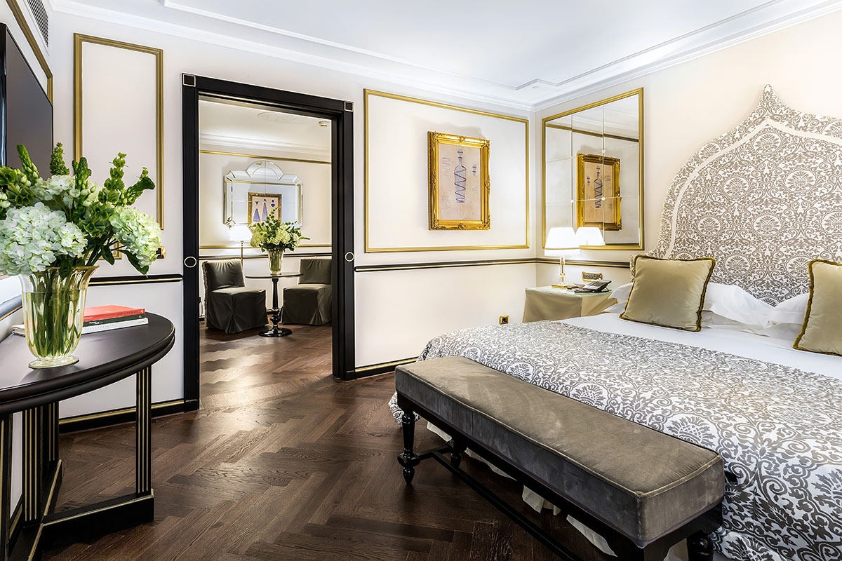 Starhotels Hotel Splendid a Venezia: Grand Suite bedroom