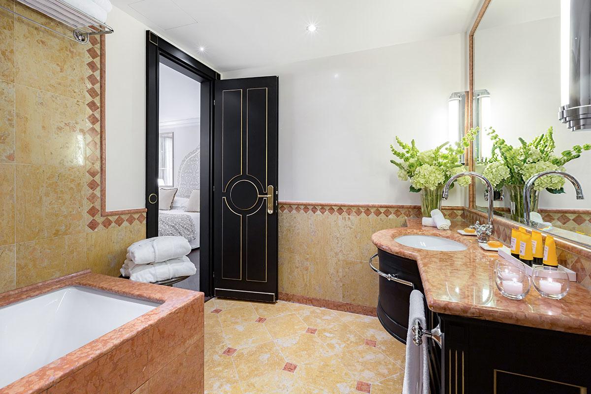 Starhotels Hotel Splendid a Venezia: bagno Grand Suite