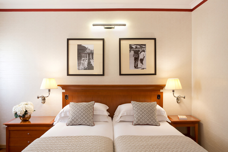 Starhotels Metropole a Roma: dettagli deluxe room