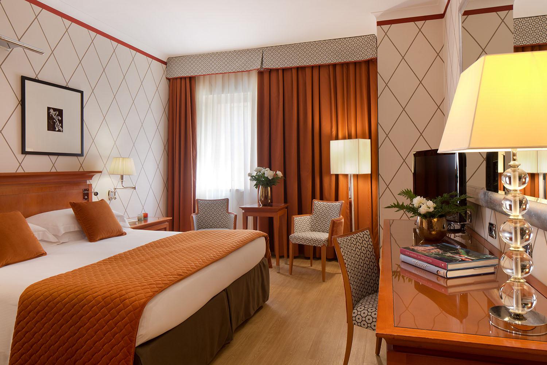Starhotels Metropole a Roma: stanza superior