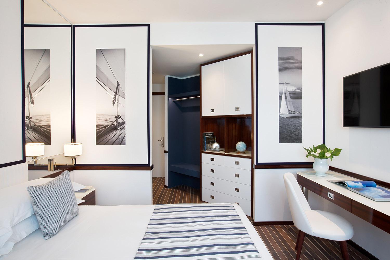 Starhotels President a Genova: Stanza deluxe
