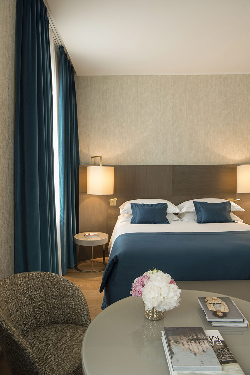 Starhotels Rosa Grand a Milano: Deluxe Room