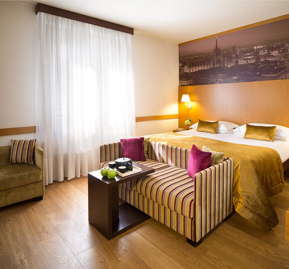 Starhotels Tourist a Milano: Dettagli camera