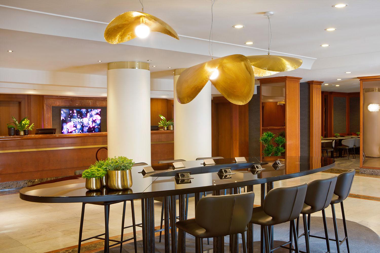 Starhotels Tourist a Milano: Reception