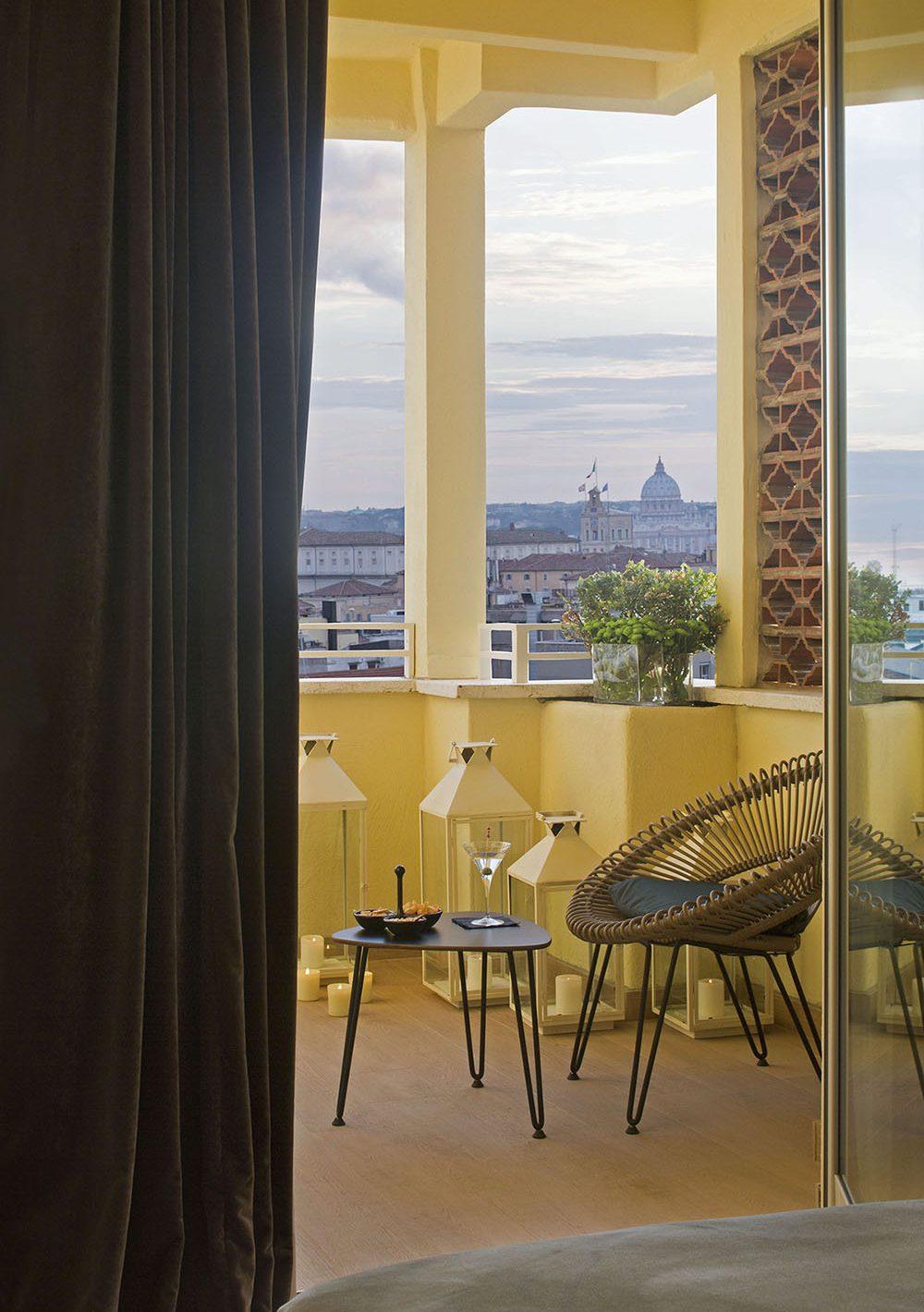 Starhotels Metropole a Roma: Executive Room vista dalla terrazza
