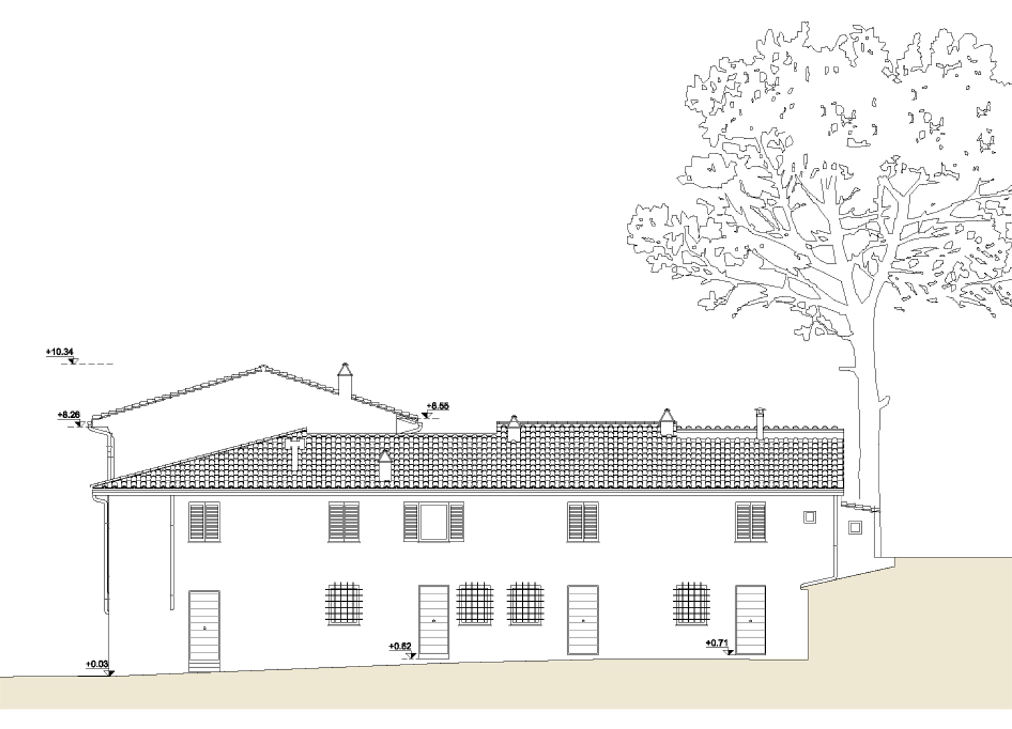 Unità residenziali a Sesto Fiorentino: dettaglio